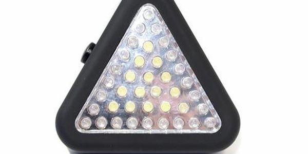 Svítilna 3v1 39xLED Trojúhelník
