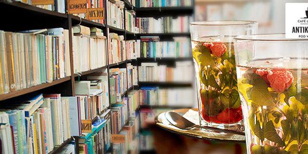 Vychutnajte si čerstvý mätovo- malinový čaj s knižkou podľa vlastného výberu
