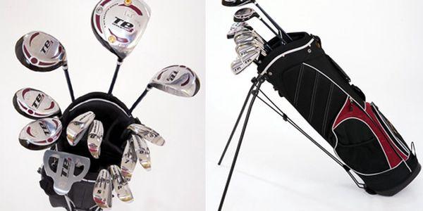 NÁŠ TIP: Prvotřídní GOLFOVÝ KOMPLET (hole + bag) značky Jack Nicklaus za výjimečných 3499 Kč!
