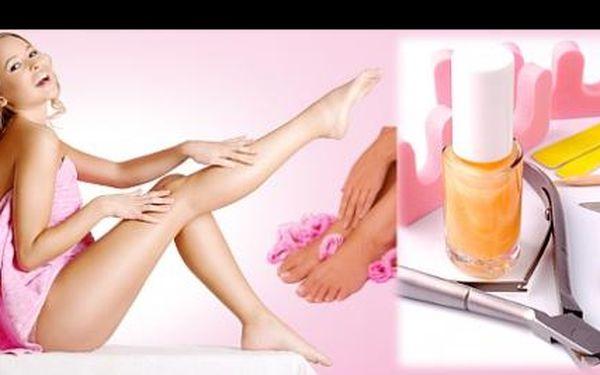 MOKRÁ PEDIKÚRA S MASÁŽÍ se slevou 53 %: Dopřejte svým unaveným a každodenně namáhaným nohám zaslouženou péči. Relaxační a změkčující koupel, speciální ošetření a blahodárná masáž je opět proberou k životu.