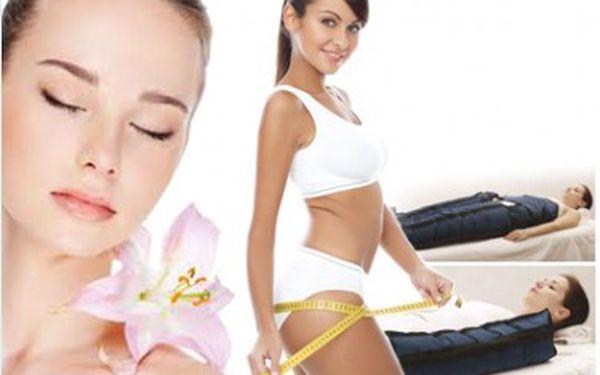 Ošetření těla a obličeje - Lymfatická přístrojová masáž včetně rukou 60 min. plus luxusní kosmetická ruční masáž obličeje, krku a dekoltu. Nyní za nejlepší cenu 299 Kč
