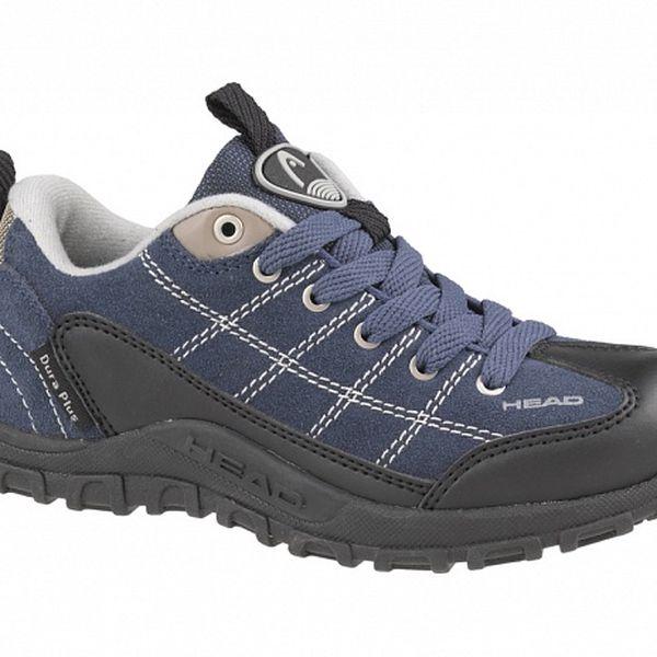 Dětská tmavě modrá nízká trekingová obuv Head