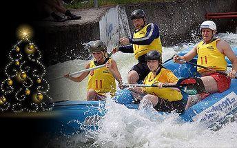 2499 Kč za Vánoční adrenalinový dárek – víkend v raftové akademii. Originální zážitek, na který se nezapomíná, platnost až do září 2013!
