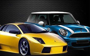 Lamborghini alebo Mini Cooper na diaľkové ovládanie v mierke 1:32 alebo 1:20, ktoré sú na nerozoznanie od skutočných áut! Skvelý darček pre milovníkov rýchlych áut so zľavou do 53%!