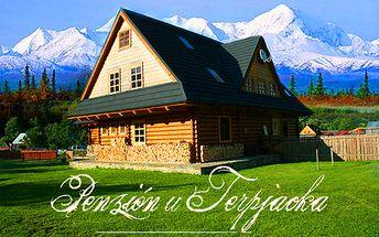 3 alebo 4-dňový pobyt pre 2 osoby v Penzióne u Terpjacka za POLOVIČNÚ cenu! Komfortné ubytovanie, raňajky a 50% zľava na štvorkolky! Spravte si výlet plný aktivít!