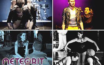 Medzinárodné divadlo METEORIT pozýva na 5 predstavení len za 5 €! Vyberte si z odvážnych kontroverzných hier alebo rozprávku a strávte večer v spoločnosti divadla!