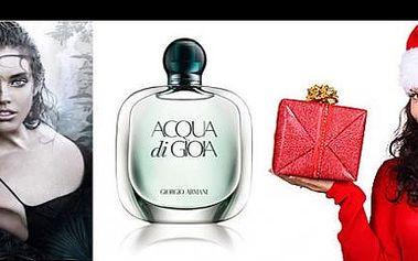 Ponořte se do světa smyslnosti a krásy… Nechte se okouzlit dámským parfémem Giorgio Armani Acqua di Gioia, který úspěšně navazuje na oblíbený pánský parfém Acqua di Gio! Za 100 ml parfému s rozprašovačem dáte jen 1.086 Kč!