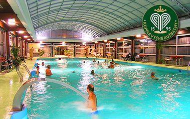Relaxačný wellness pobyt s polpenziou v hoteli Travertín*** v kúpeľnom mestečku Vyšné Ružbachy! Voľné vstupy do 4**** wellness (bazény, jacuzzi, sauny) a mnoho ďalšieho!