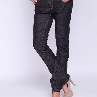 Klasické dámské jeans s rovnými nohavicemi Superdry Jeans Leon Denin Classic S, černé