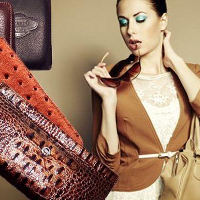 Krásné kožené peněženky! Pořiďte si kvalitní peněženku! Výběr z různých stylů a motivů!