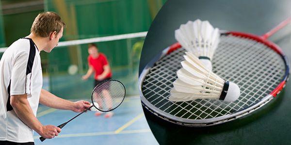 PĚT vstupů na badminton nebo tenis