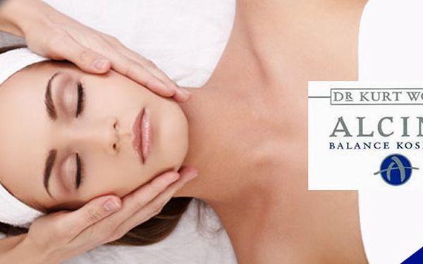 60-ti minutové ošetření pleti luxusní kosmetikou Alcinavčetně masáže obličeje,zahrnující peeling,hloubkové čistění pleti,masku,úpravu obočía spoustu dalších procedurse slevou 61%!!!