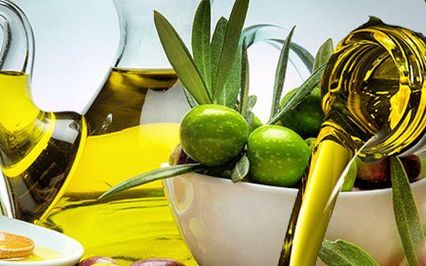 2 litry extra panenského olivového oleje
