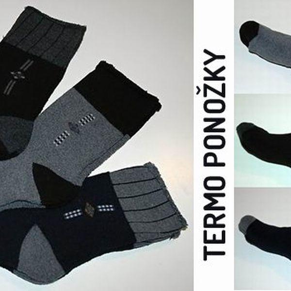 Potěšte sebe i druhé vánočním dárkem. Tři páry zdravotních termo ponožek se slevou 67%!!!