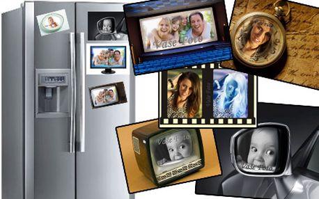 Fotomagnetky z vlastných fotografií so zľavou 67%! Na vašej chladničke vám budú pripomínať krásne spomienky. Miesta kde ste boli, deti, vnúčence, či maznáčikov. Až 4 kusy za 5 € + 4 ks lesklých samolepiek ZDARMA vrátane doručenia k Vám.