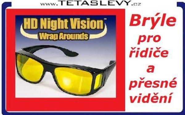 HD VISION brýle které celkově zlepšují kvalitu a komfort vidění za 140 Kč a poštovné je v ceně akce