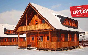 Zrubové domčeky na LIPTOVE, Zažite so svojimi priateľmi 4-dňový komfort drevených zrubov Magura Village na Liptove