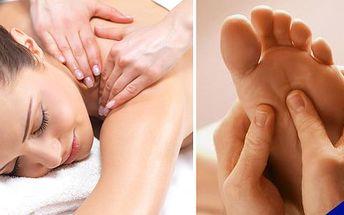 Masáž v Táboře za úžasnou cenu se slevou 60%!!! Relaxační masáž zad a plosky nohou využívající stimulaci energetických drah. Sedíte celý den v práci v kanceláři a bolí vás záda? Chcete uvolnit ztuhlé svaly na krku? Přijďte do masáží Relax. Během jedné masáže Vás mohu zbavit bolesti a tlaků v oblasti zad a krku!!
