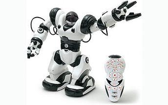 Roboman nové generace za neuvěřitelných 969 Kč! 30cm vysoký robot zvládá až 16 pokynů a stane se tak hitem pod vánočním stromkem!