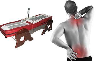 Masáž v termo-akupresúrnom lôžku, Využite účinky tradičnej alternatívnej medicíny a najmodernejšej technológie a nechajte si zregenerovať celé telo 40 minútovou masážou