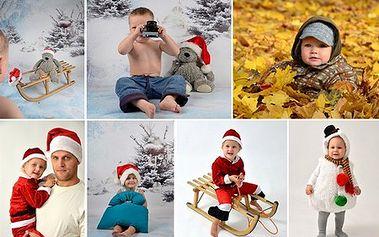 45-minútové fotenie a 7 vyretušovaných fotografií ZA POLOVICU! Zaujímavé fotografie detí, dvojíc (párov) alebo celej rodiny potešia nielen vás, ale aj vašich blízkych!
