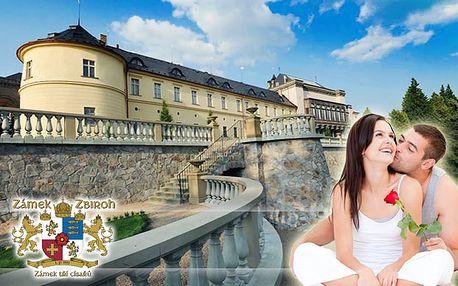 Ubytovanie priamo v komnatách zámku Zbiroh, kde bývali velikáni ako Karol IV alebo cisár Rudolf II. - trojdňový pobyt pre dve osoby len za 149€ po 79% zľave.
