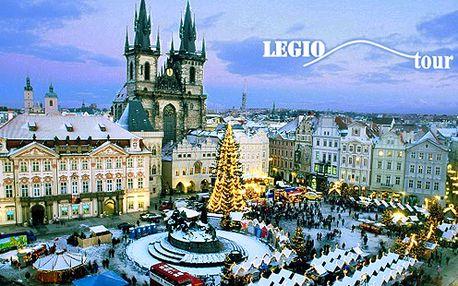 Adventný zájazd do PRAHY, Jednodňový zájazd do hlavného mesta Českej republiky – Prahy v jej najkrajšom adventnom období s CK Legiotours len za 25€