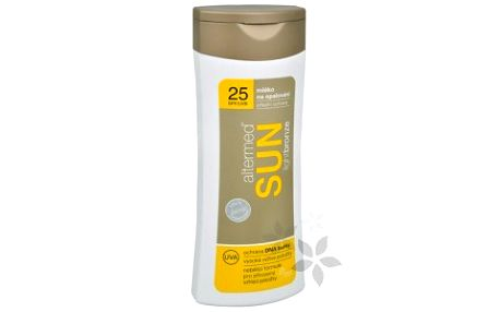 Altermed Mléko na opalování Sun SPF 25 (LightBronze) 200 ml