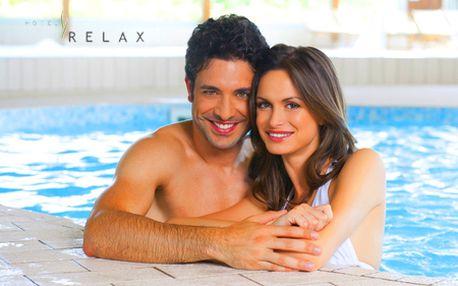 3-dňový pobyt pre 2 osoby v hoteli RELAX***+ Rajecké Teplice! V cene raňajky, wellness, fitness, bazén, masážne lôžko či horské bicykle! +20% zľava na SKIPAS!