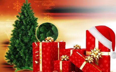 Vánoční stromek vč. podstavce! Věrná imitace, kterou jen tak nerozeznáte od živého stromku. Výška až 190 cm!