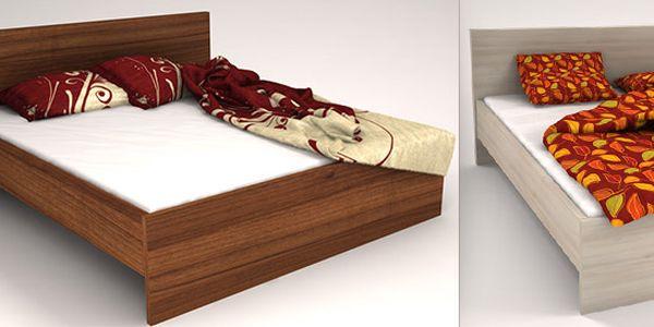 Dvoulůžkové postele české firmy Halbos