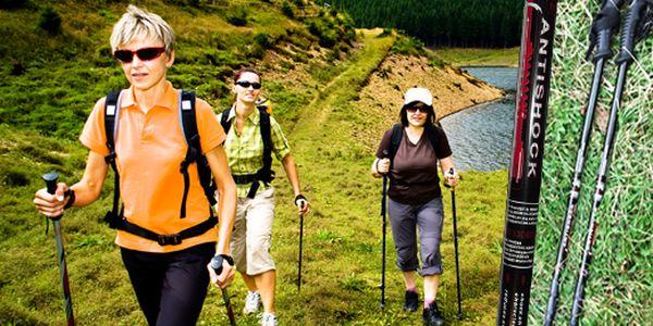 Kvalitné trekingové palice , Spríjemnite si výlety, prechádzky či túry a vyberte si jeden z dvoch druhov trekingových palíc, ktoré Vám pri chôdzi poskytnú oporu a správne držanie tela.