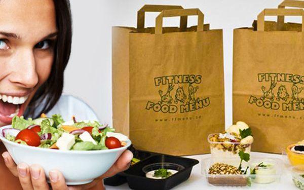 Fitness menu - 5x denně nutričně vyvážené jídlo
