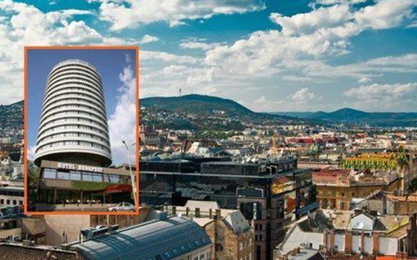 Pobyt v Hotelu Budapest****! 4 dny PRO DVA i se snídaní v Budapešti!