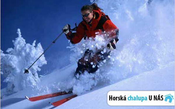Tradiční horská chalupa, skipasy a super 3denní lyžovačka pro dvě osoby!