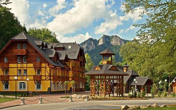 Báječný wellness pod Vysokými Tatrami s polopenzí…