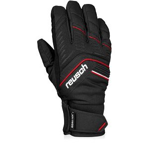 Pánské černé softshellové rukavice Reusch