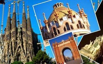 Užijte si teplý víkend a poznejte krásy Barcelony: víkend LETECKY!
