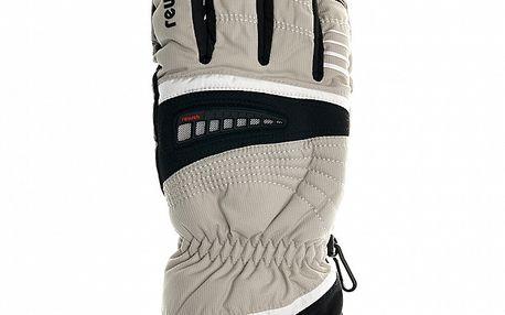 Pánské bílé lyžařské rukavice Reusch s membránou
