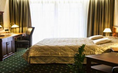 5 denní LAST MINUTE pobyt pro dvě osoby vč. 1 dítě zdarma v Golf hotel Morris Mariánské Lázně
