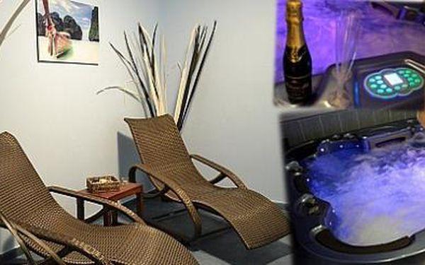 Nejlepší způsob odpočinku je naložit se do vířivky. 120 minut nerušené relaxace!