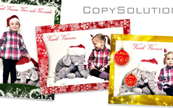 8 kusov originálných vianočných pohľadníc s vlastnými fotografiami len za 3,50€! Potešte svojich blízkych výnimočným pozdravom.