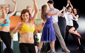 Jeseň plná pohybu a tanca so zľavou až 58%. Plesová tanečná príprava alebo permanentka na pohybové aktivity ako Zumba, ChrenDance alebo LatinoDance.
