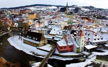 Ve dvou v Českém Krumlově! 3denní pobyt se snídaní až do postele a památky UNESCO!