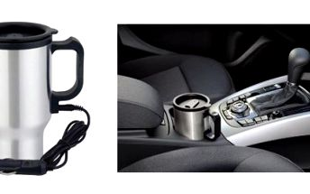 Elektrický termo hrnček do auta teraz so zľavou až 52%!!!