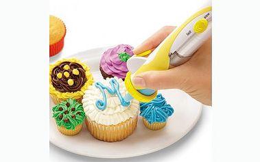 Pouhých 199 Kč za zdobící pero Deco pen, které se hodí k zdobení, plnění mufinů, dortů, sušenek, atd. Všechny Vaše dorty, cukroví nebo perníčky budou vypadat jako od cukráře!