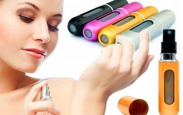 Parfumové plniace pero len za 4,50 €! Praktický spôsob, ako mať svoj parfum vždy pri sebe bez nosenia veľkých flakónov. Poštovné v cene!