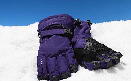 Kvalitní lyžařské rukavice Tchibo. Optimálně udržují teplo a jsou ergonomicky tvarované. Ruka jako v bavlnce.