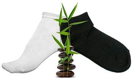 1 pár bambusových ponožek unisex za fantastických 117 Kč!