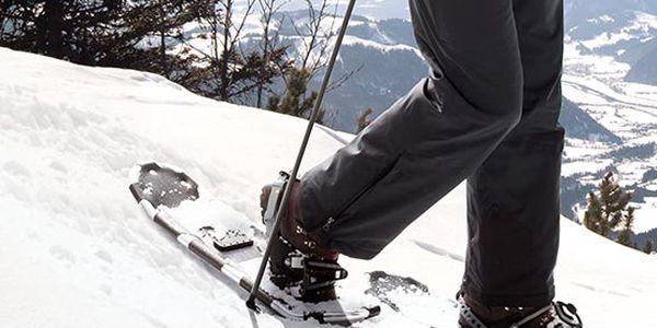 Lehké a praktické sněžnice Tchibo na chození ve sněhu a horské túry. Včetně tašky s ramenními popruhy.